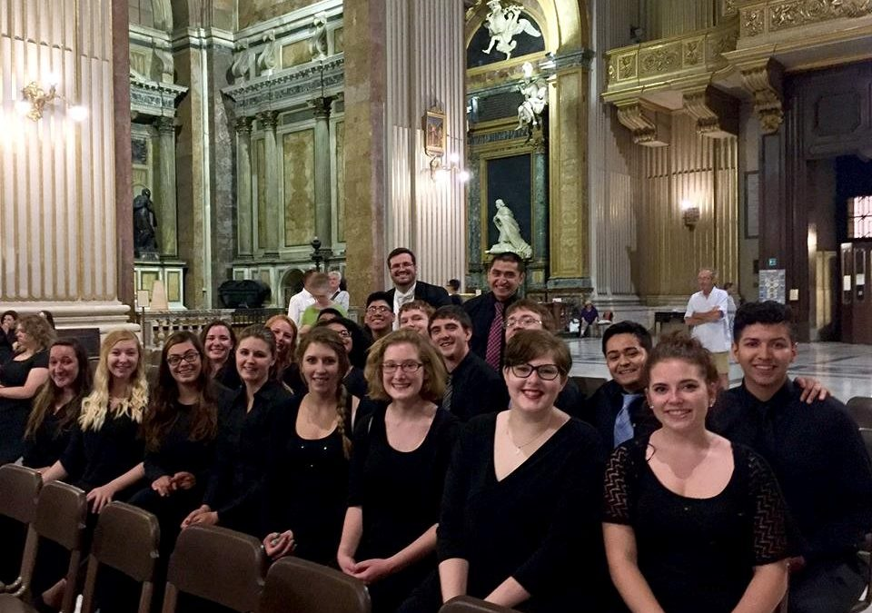 CCC's Choir in Italy – 2017