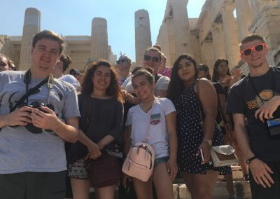 2017 Southeast students 10-day trip to Italy and Greece