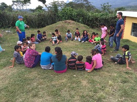 Guatemala - SCC Health Science students treat local residents