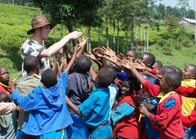 Kenya 2016 SCC Students visit Elementary Students
