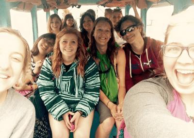 WNCC students in Antigua, Guatemala, May - June 2015