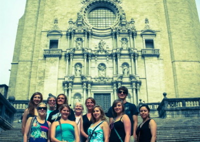 WNCC students have traveled the globe, here in Barcelona, Spain in 2012.